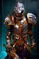 Warcraft - King Llane Wrynn by vaxzone