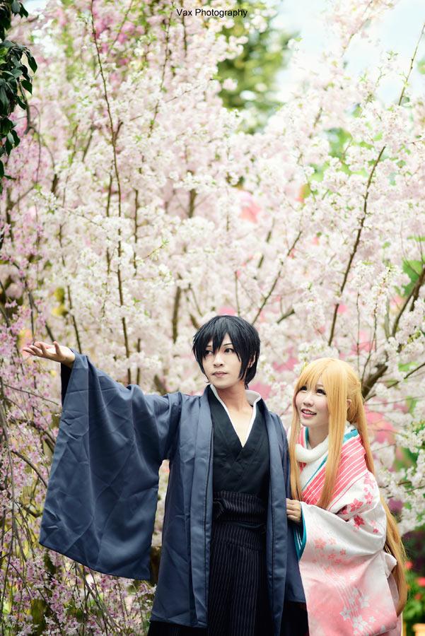 Sword Art Online - Asuna x Kirito by vaxzone