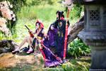 Touken Ranbu - Taroutachi + Jiroutachi