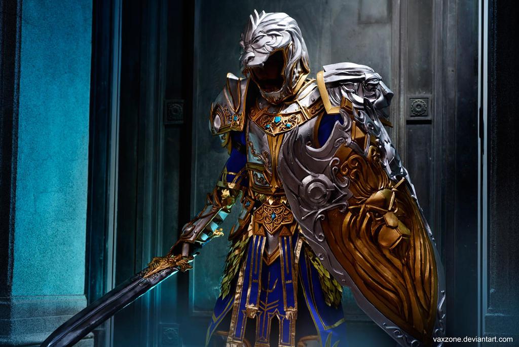 Warcraft - King Llane 01 by vaxzone