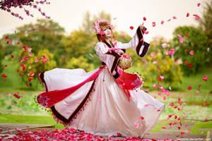 Tsubasa Chronicles - Sakura's Dance by vaxzone