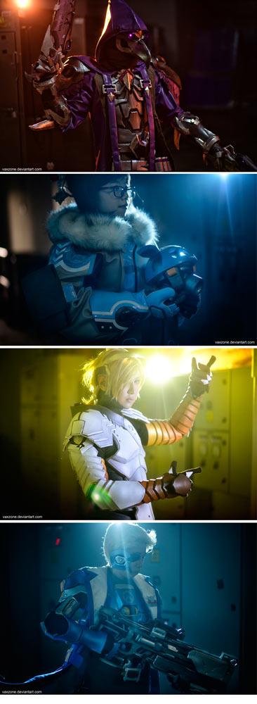 Overwatch Team by vaxzone