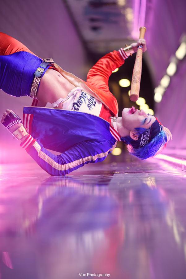Harley Quinn - Genderbend by vaxzone