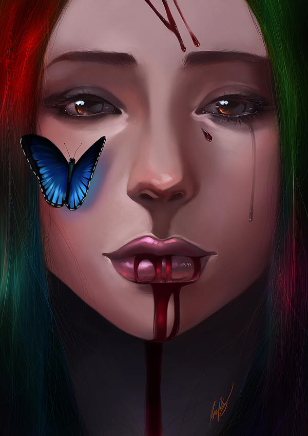 Dying Beauty (2012) by BoFeng