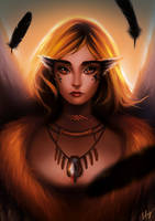 Commission: Hazel (for Owlivia) by BoFeng