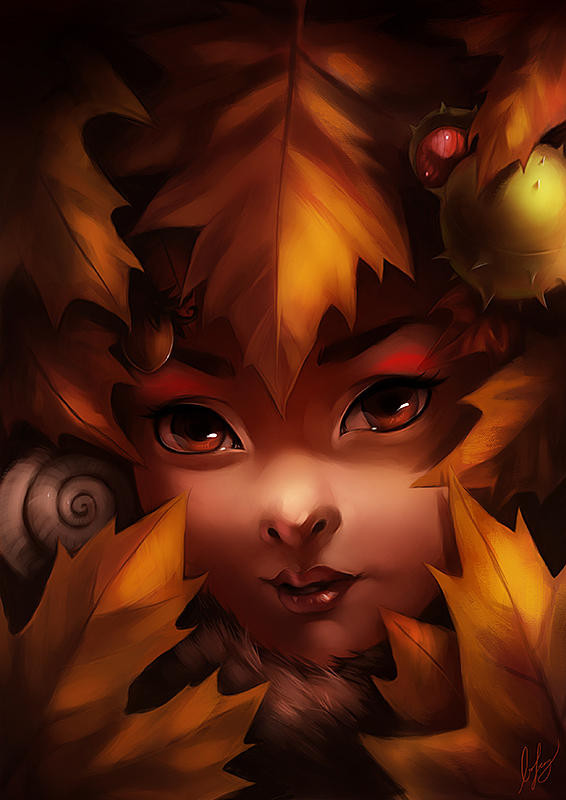 Warmth of Autumn by BoFeng
