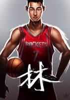 Jeremy Lin by BoFeng