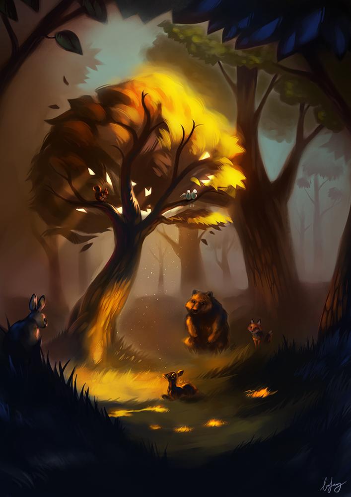 The Storyteller by BoFeng