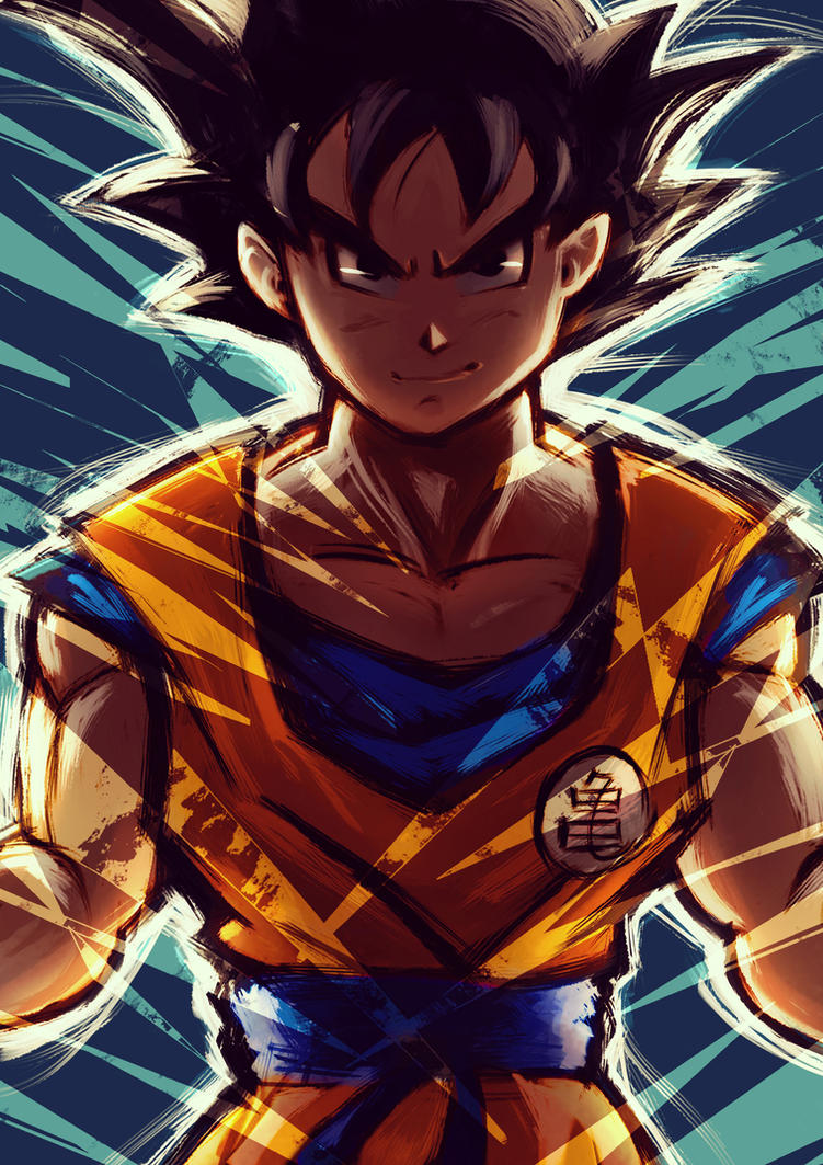 Goku by BoFeng