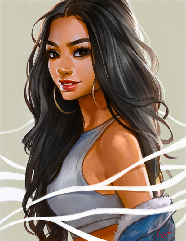 Ivana Santacruz by BoFeng