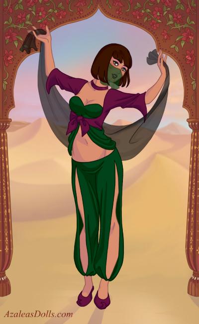 My OC: belly dancer by ticklishnatasha