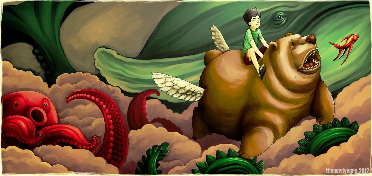 Flying trough Fantasy