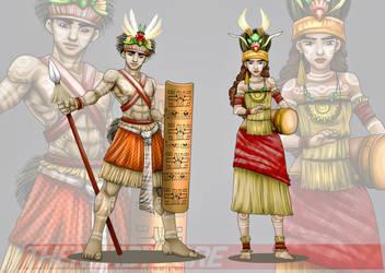 Papua Dress by thenerdyogre