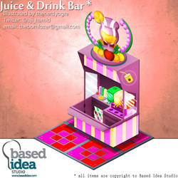 Juice and Drink Bar by thenerdyogre