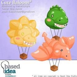 Dinosaurs Cute Ballons