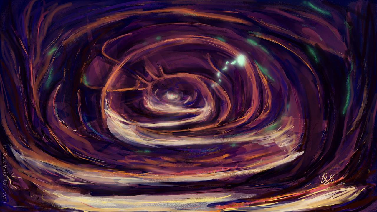 Magic Cave speedpaint by RSA91