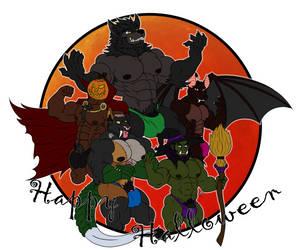 Happy Halloween 2017 by Shadowmark-Wolf