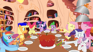 A Pony Hearths Warming Dinner by SauseSource