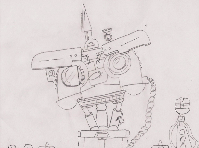 johnny 5 is pissed off by agentwolfman626 on deviantart