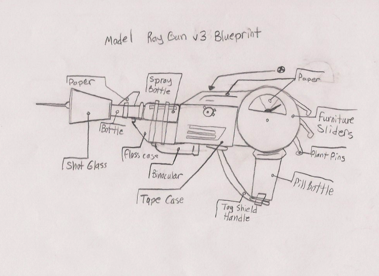 Ray gun v3 blueprint draft by agentwolfman626 on deviantart ray gun v3 blueprint draft by agentwolfman626 malvernweather Gallery