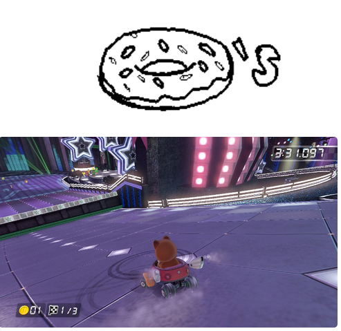 Miiverse - Donuts by Agentwolfman626
