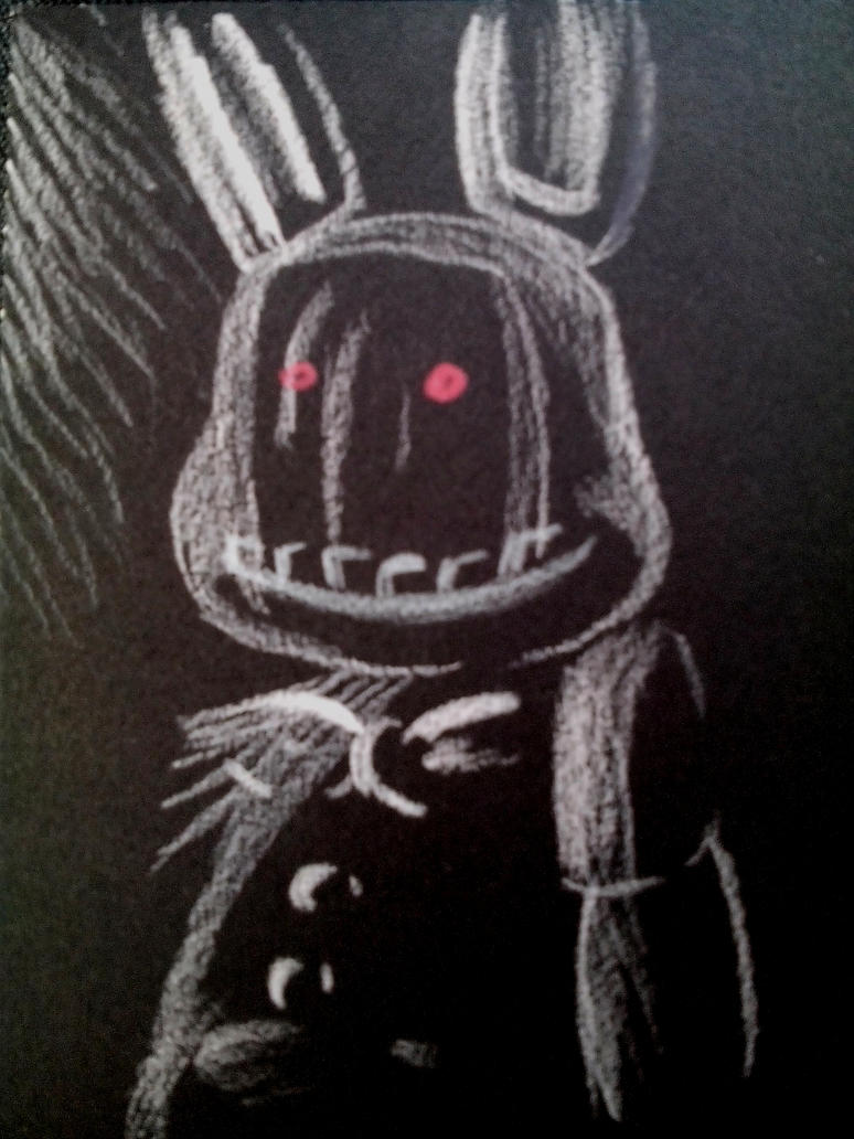 Withered Bonnie by Agentwolfman626