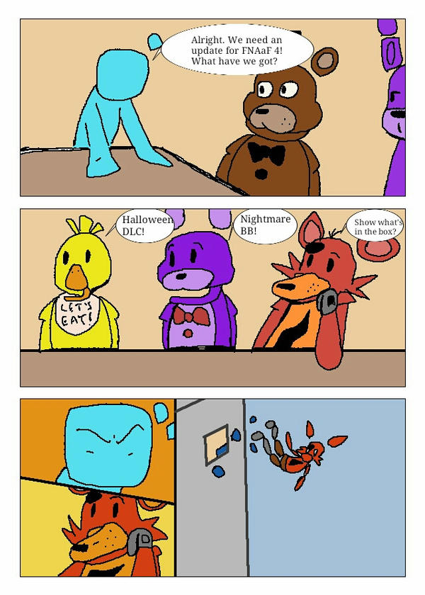 Foxy's Boardroom Suggestion by Agentwolfman626