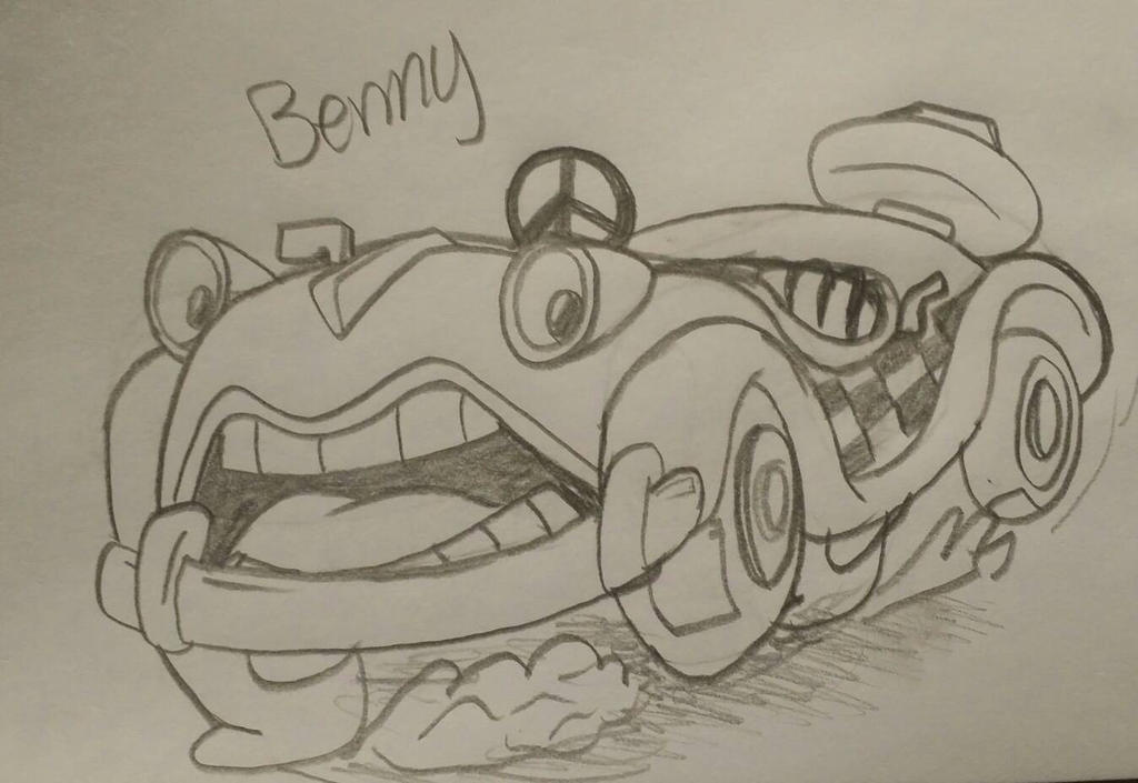 Benny by Agentwolfman626
