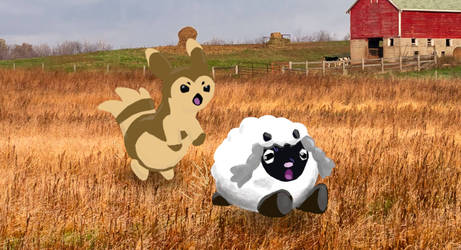 Wooloo chase by Agentwolfman626