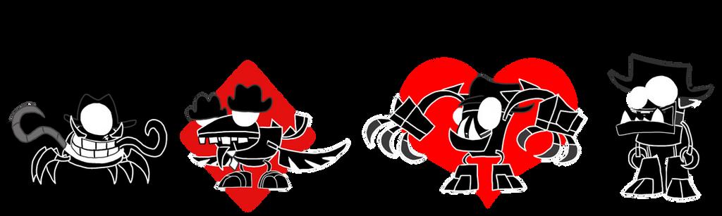 MxlsxHS: Midnight Crew Mixels by ZootyCutie