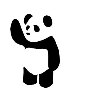 panda vector by jwaffle on deviantart rh jwaffle deviantart com panda vector free download panda vector art