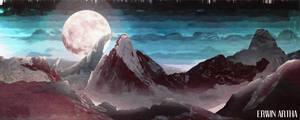 Mountain Scenery - Background Art
