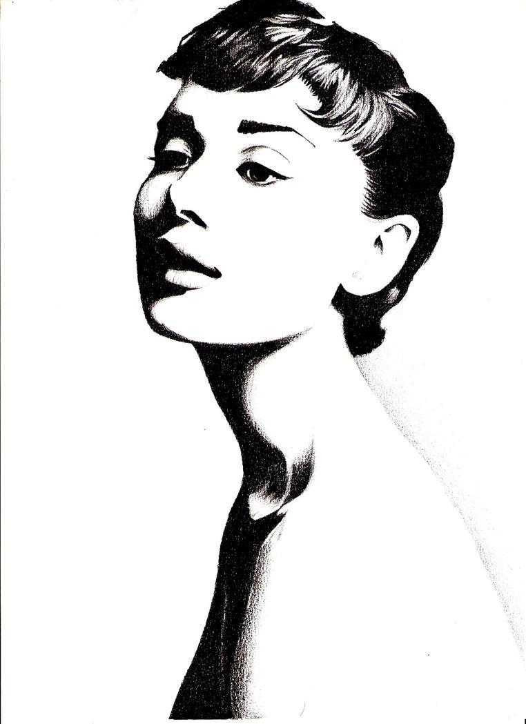 Audrey Hepburn by HandsandSoul