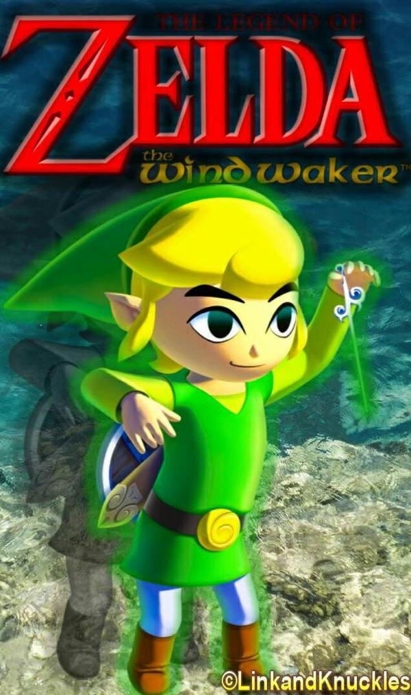 Legend Of Zelda Wind Waker Linkphone Wallpaper By