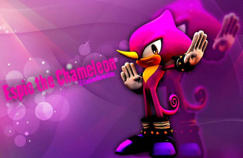 espio the chameleon wallpaper - photo #31