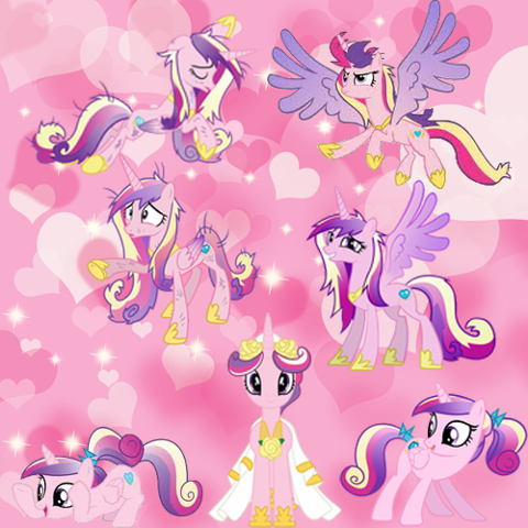 princess cadance wallpaper by FluttershyPony4444