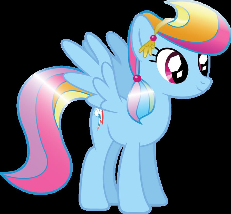 Crystal RainbowDash by FluttershyPony4444