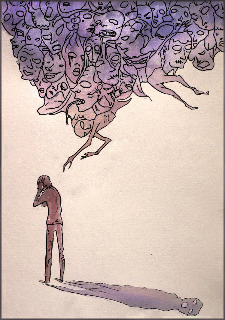 Schizophrenia by vivaelpato on DeviantArt
