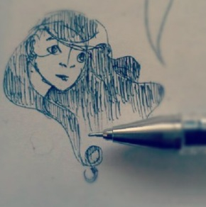 Pen Sketch by Willowstream