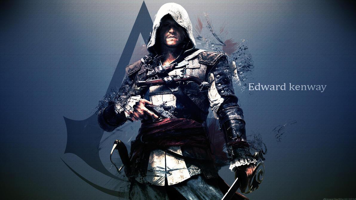 Assassins creed 4 edward kenway hd wallpaper by dizoex2 on deviantart assassins creed 4 edward kenway hd wallpaper by dizoex2 voltagebd Images