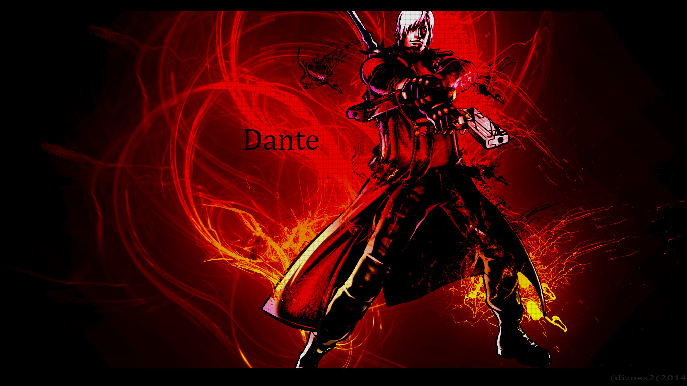 Devil May Cry DANTE HD Wallpaper By DizoEX2 On DeviantArt