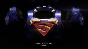 Superman Play Arts Kai 3D render!