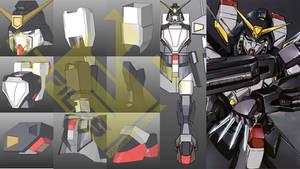 Gundam Spiegel Pepakura Foam HD