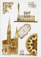 Gothic Architecture by dedeyutza