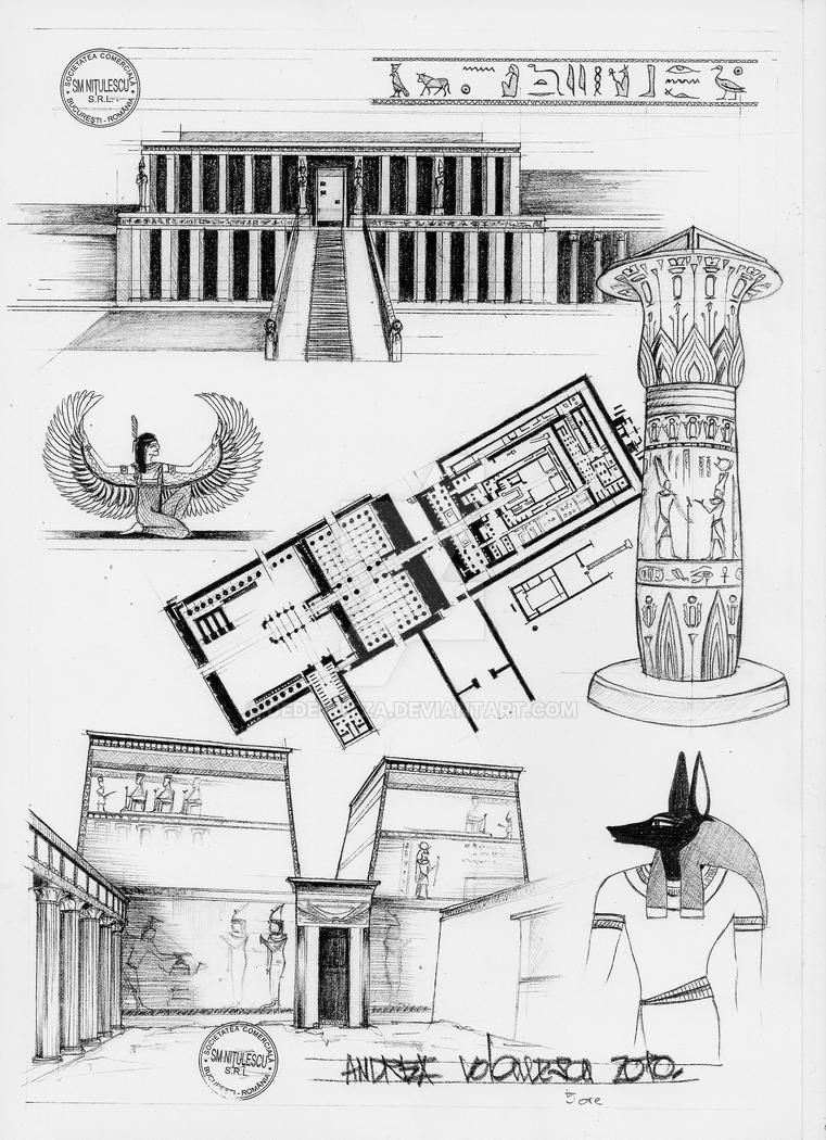 architect ancient egypt Dr joyce tyldesley explores the roots of our ongoing fascination with ancient egypt british broadcasting corporation home  still pays an important role in modern architecture, and can be seen .