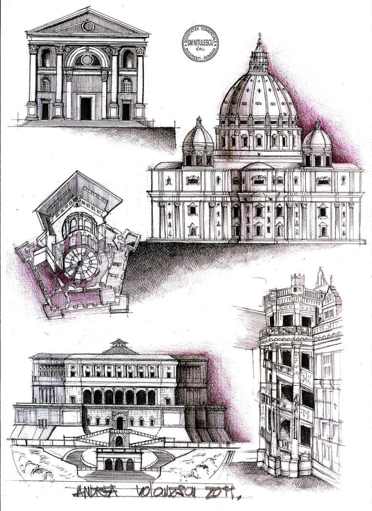 Renaissance Architecture by dedeyutza
