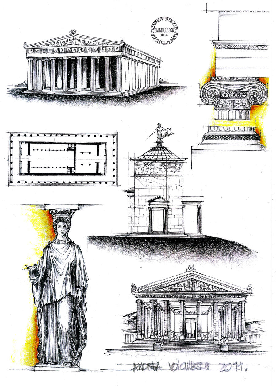 Greek Architecture by dedeyutza on DeviantArt
