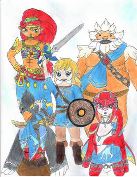 Link and the champions