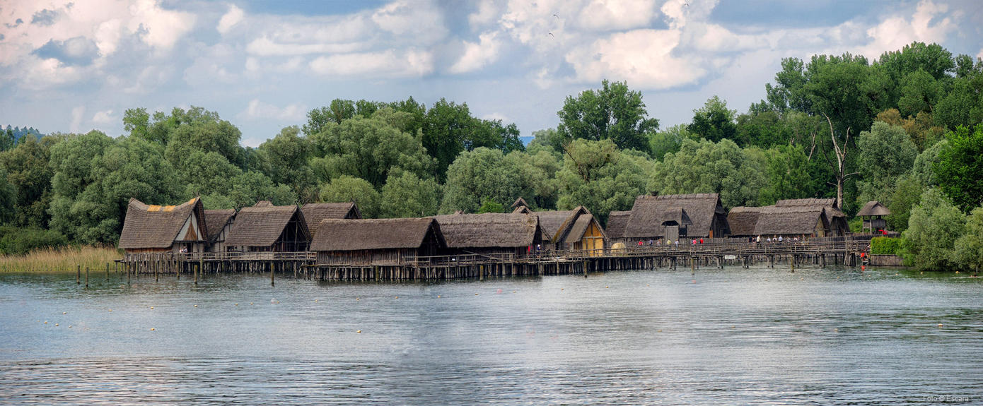 Historic Lake Dwellings by Escara40