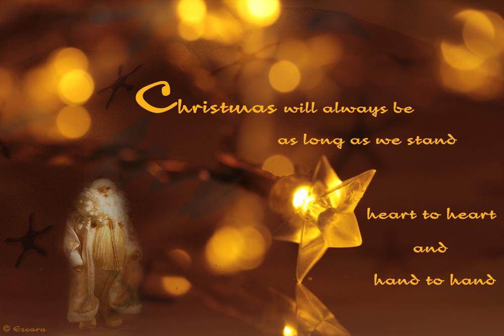 Merry Christmas by Escara40